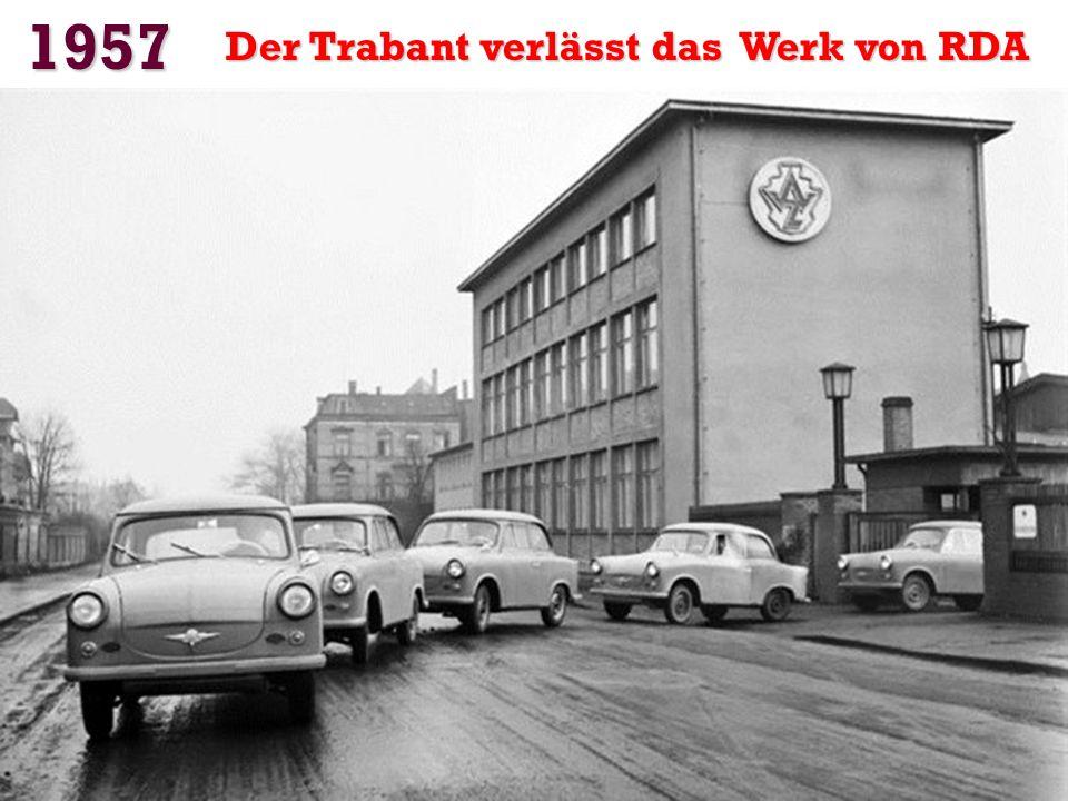 1957 Markteinführung des Fiat 500