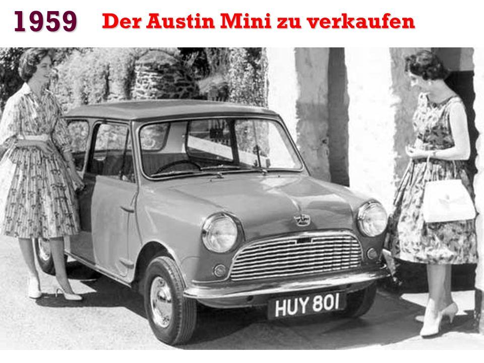 1957 Der Trabant verlässt das Werk von RDA