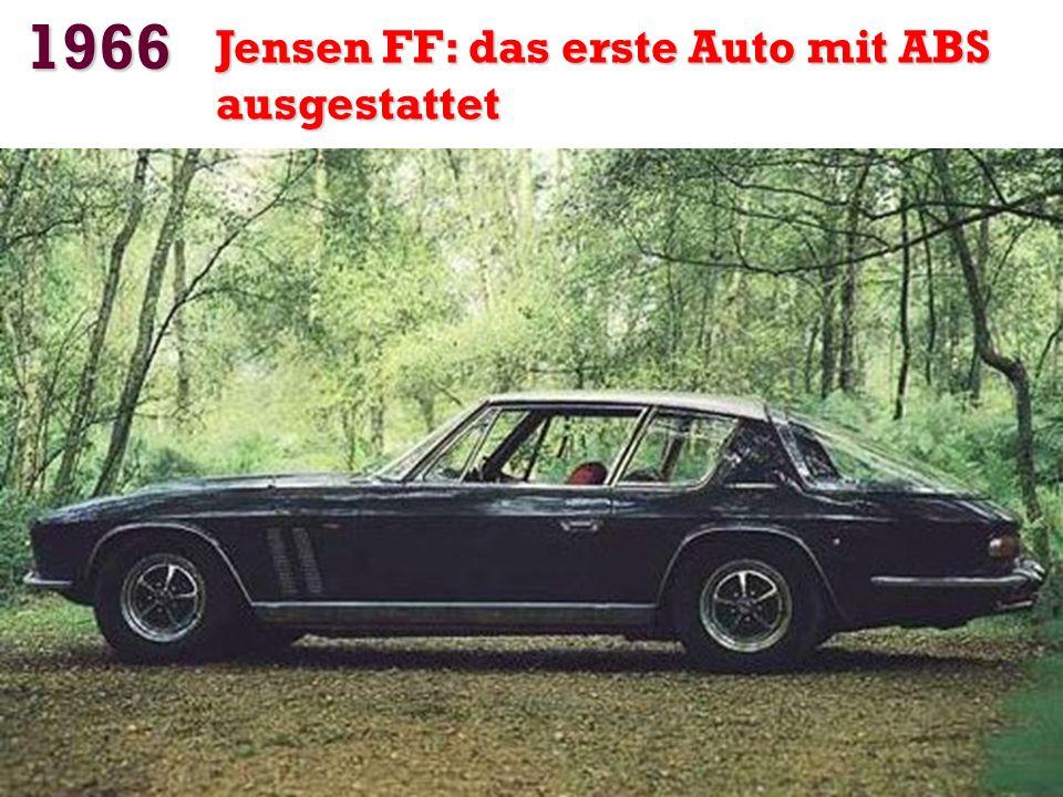 1966 4,5 Millionen Kilometer mit seinem Auto Irv Gordon hält den Rekord für Kilometer auf dem gleichen Motor und das gleiche Getriebe (Volvo P1800).