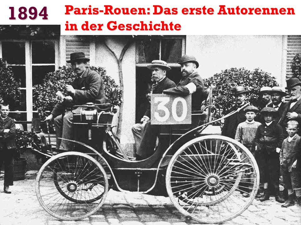 1891 Michelin erfand die Reifen mit Luftschläuche