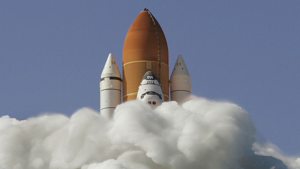 Transport eines bewohnbaren Modul zur ISS
