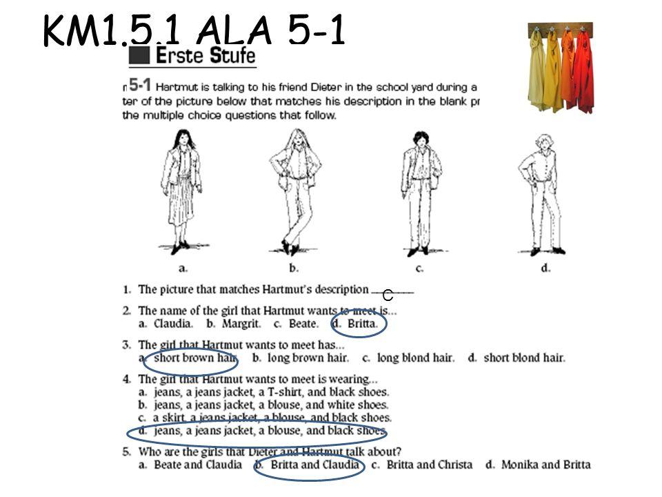 KM1.5.1 ALA 5-1 C