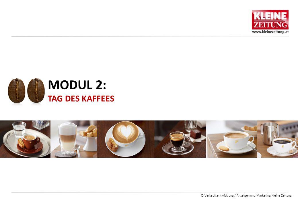 © Verkaufsentwicklung / Anzeigen und Marketing Kleine Zeitung MEMOSTICK  Schenken Sie zum Tag des Kaffees den Lesern einen Bonus z.B.