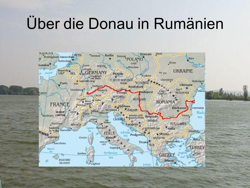 Über die Donau in Rumänien