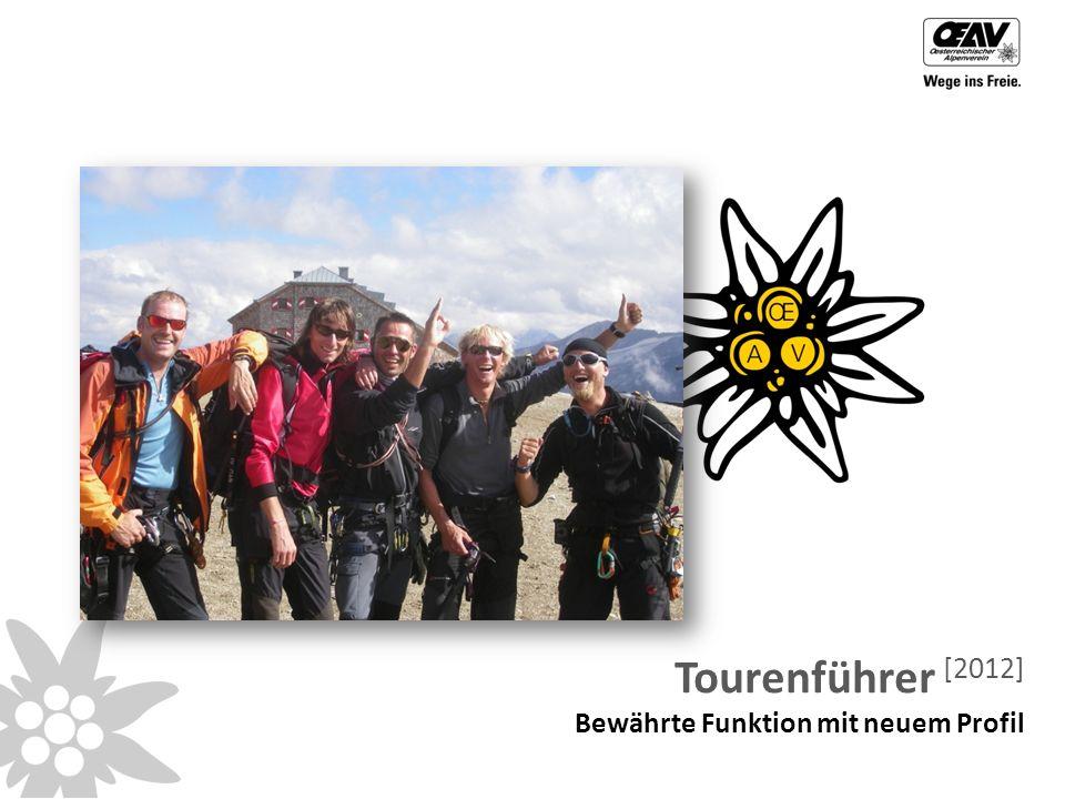 Tourenführer [2012] Bewährte Funktion mit neuem Profil