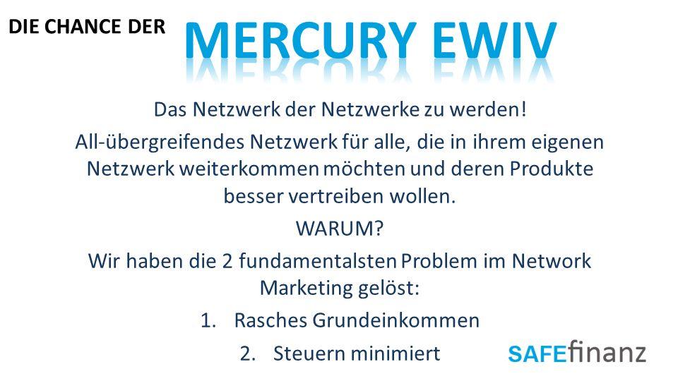 Das Netzwerk der Netzwerke zu werden! All-übergreifendes Netzwerk für alle, die in ihrem eigenen Netzwerk weiterkommen möchten und deren Produkte bess