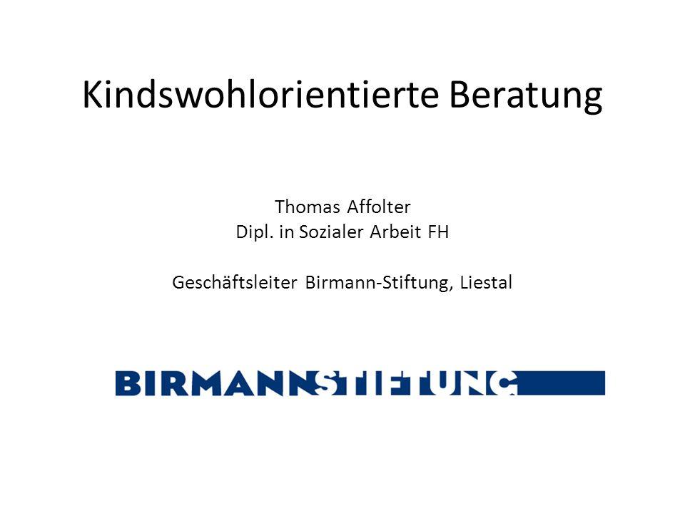 Birmann-Stiftung miteinander reden 12 Fazit: