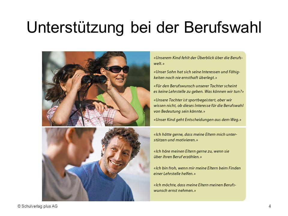 Berufe-Hitlisten © Schulverlag plus AG15