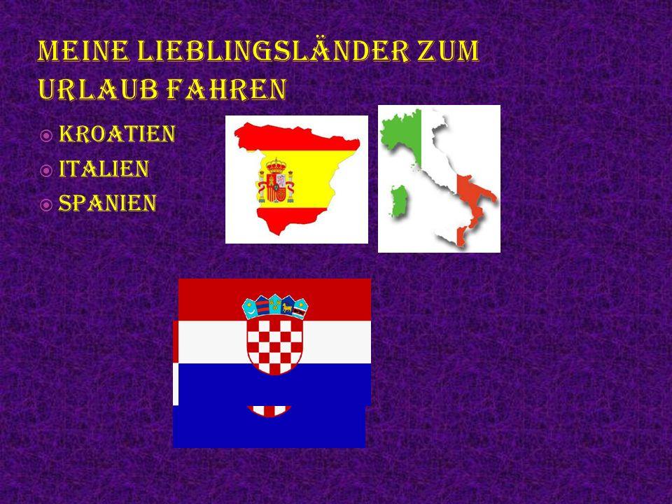  Kroatien  Italien  Spanien