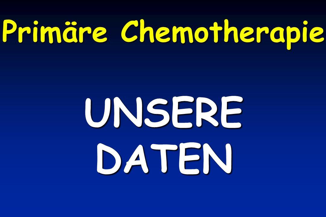 Primäre Chemotherapie UNSEREDATEN