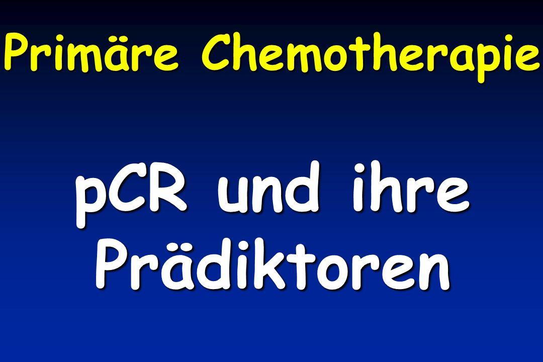 Primäre Chemotherapie pCR und ihre Prädiktoren