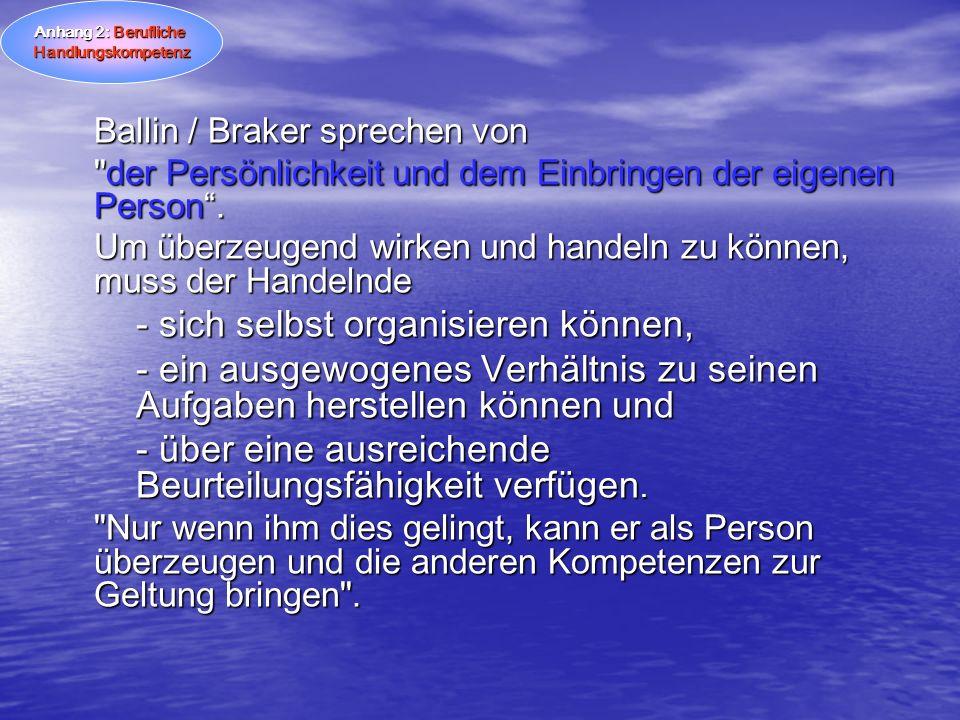 Ballin / Braker sprechen von