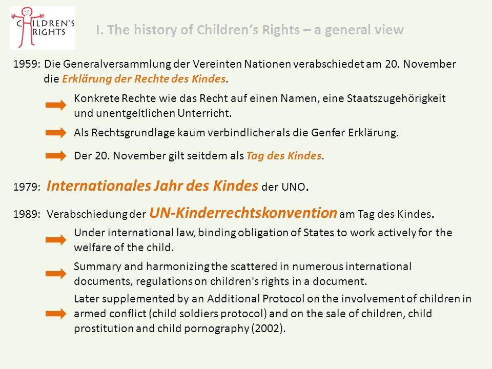 4.UNICEF-Forderungen für die Kinder in Deutschland:  Kinderrechte im Grundgesetzt verankern.