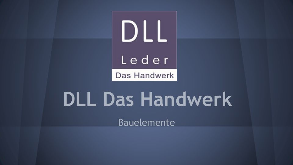 DLL Das Handwerk Bauelemente
