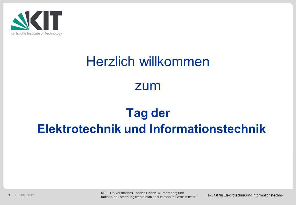 Fakultät für Elektrotechnik und Informationstechnik 22 Prof.