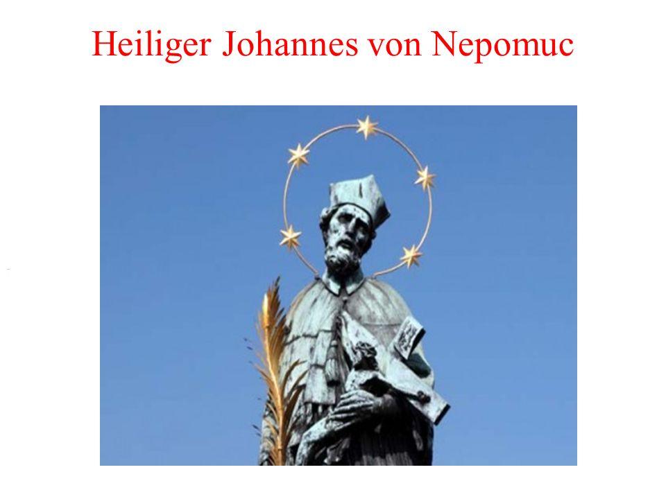 Heiliger Johannes von Nepomuc