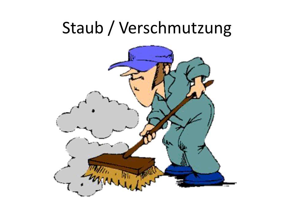 Staub / Verschmutzung