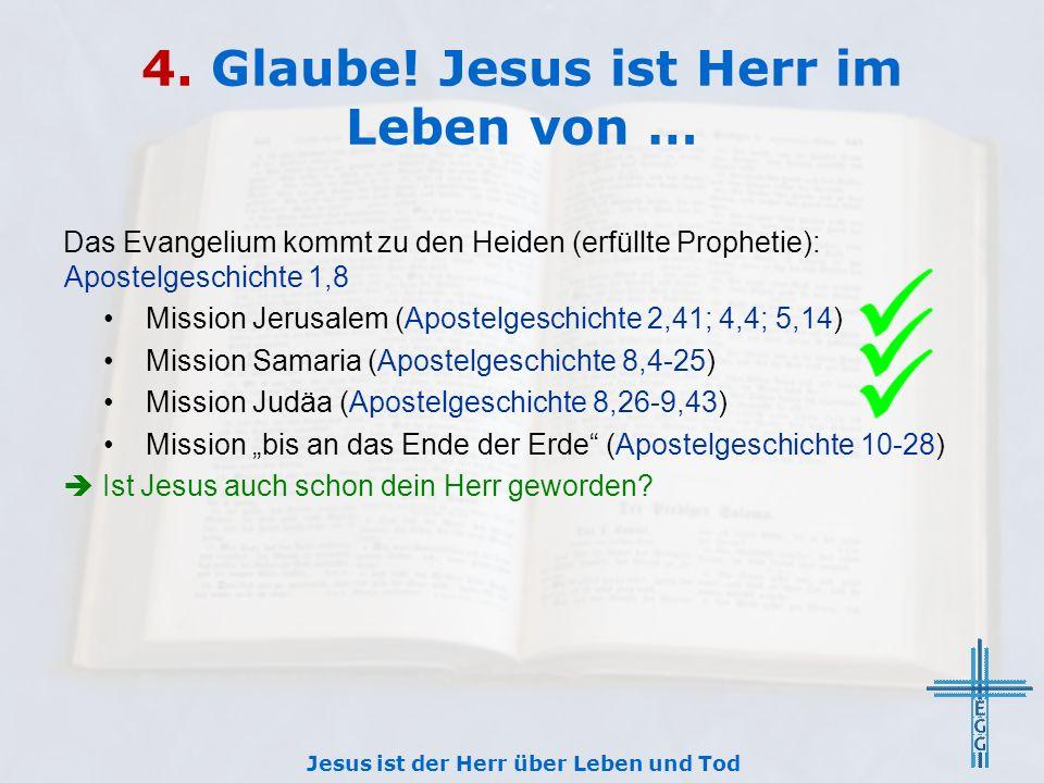 4. Glaube.