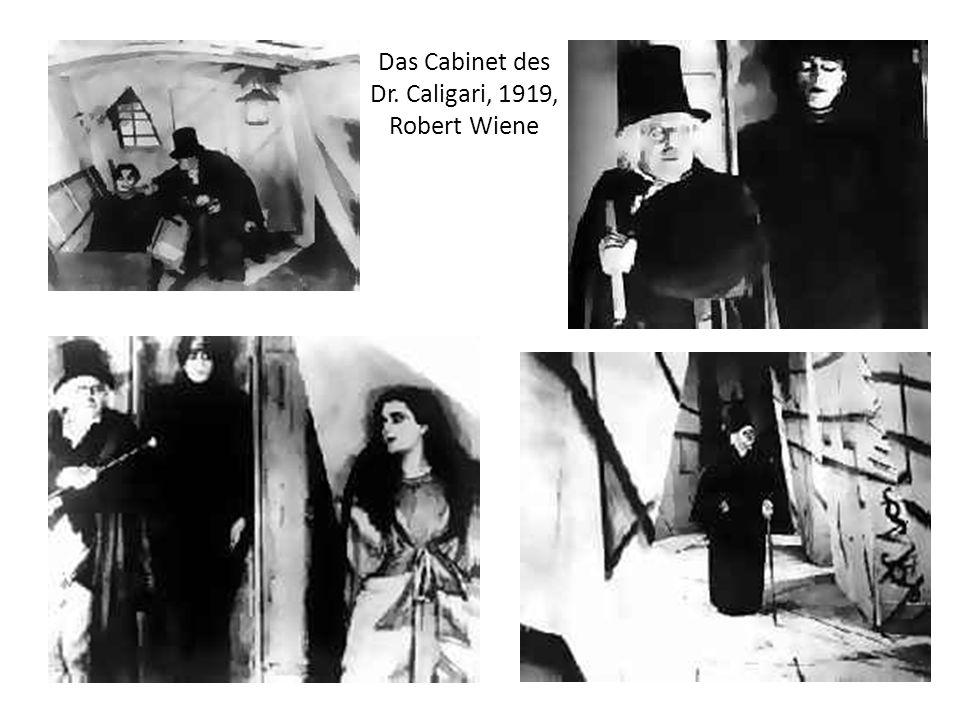 Das Cabinet des Dr. Caligari, 1919, Robert Wiene