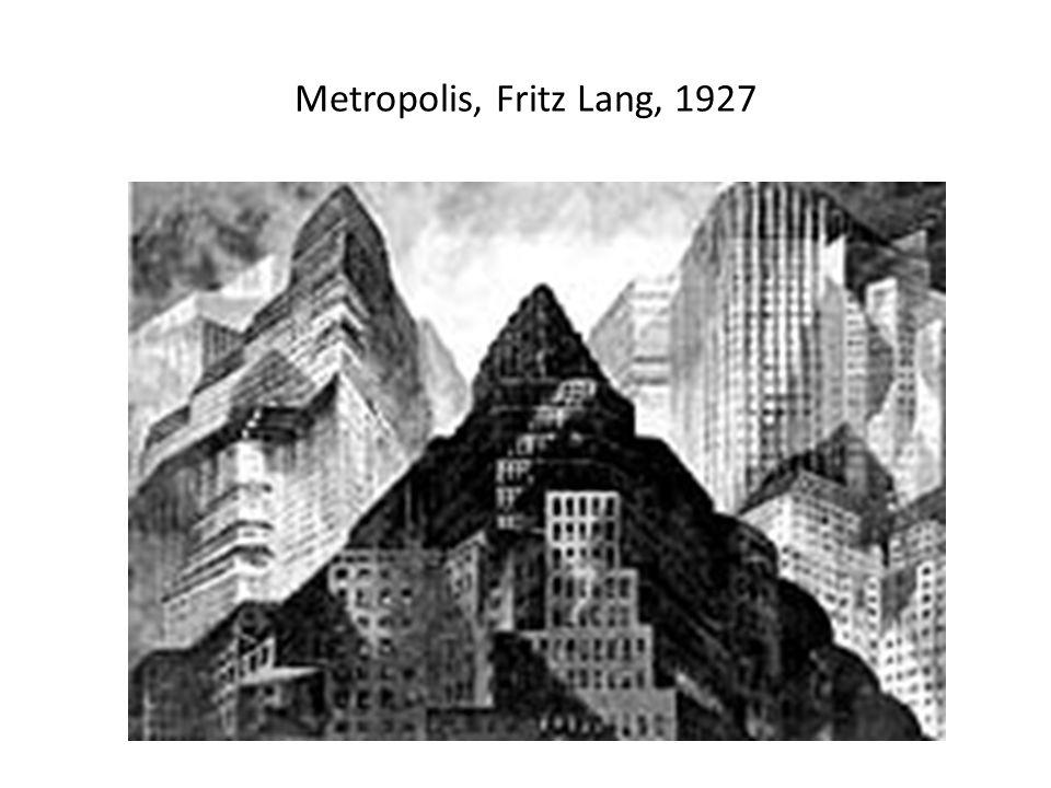 Metropolis, Fritz Lang, 1927