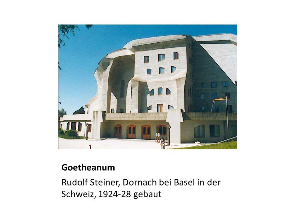 Goetheanum Rudolf Steiner, Dornach bei Basel in der Schweiz, 1924-28 gebaut
