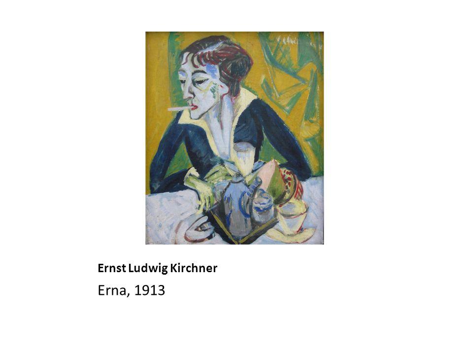 Ernst Ludwig Kirchner Erna, 1913