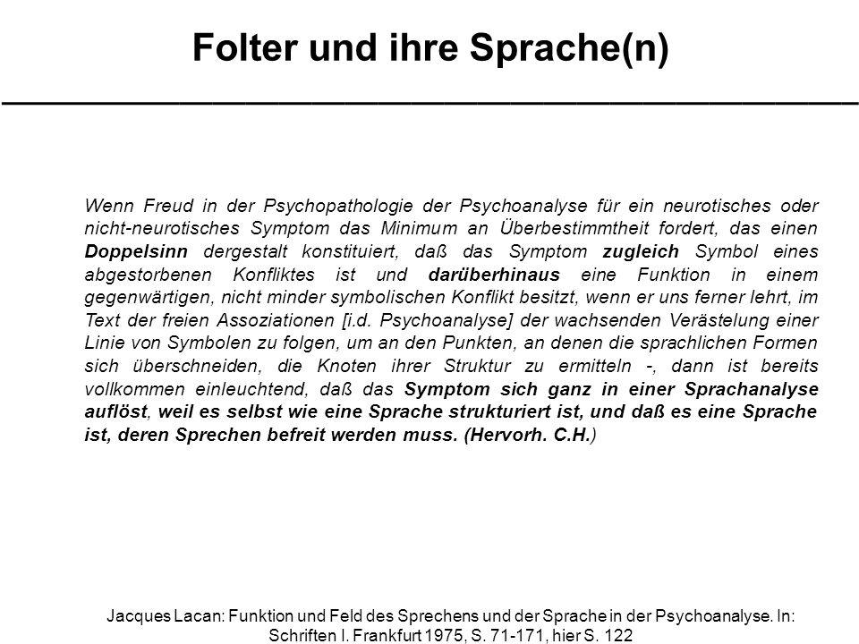 Wenn Freud in der Psychopathologie der Psychoanalyse für ein neurotisches oder nicht-neurotisches Symptom das Minimum an Überbestimmtheit fordert, das