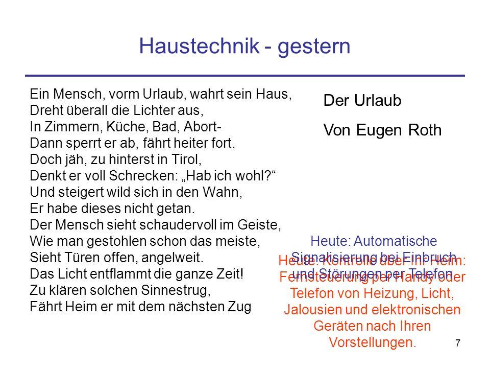 "6 ""smarte"" Haustechnik"