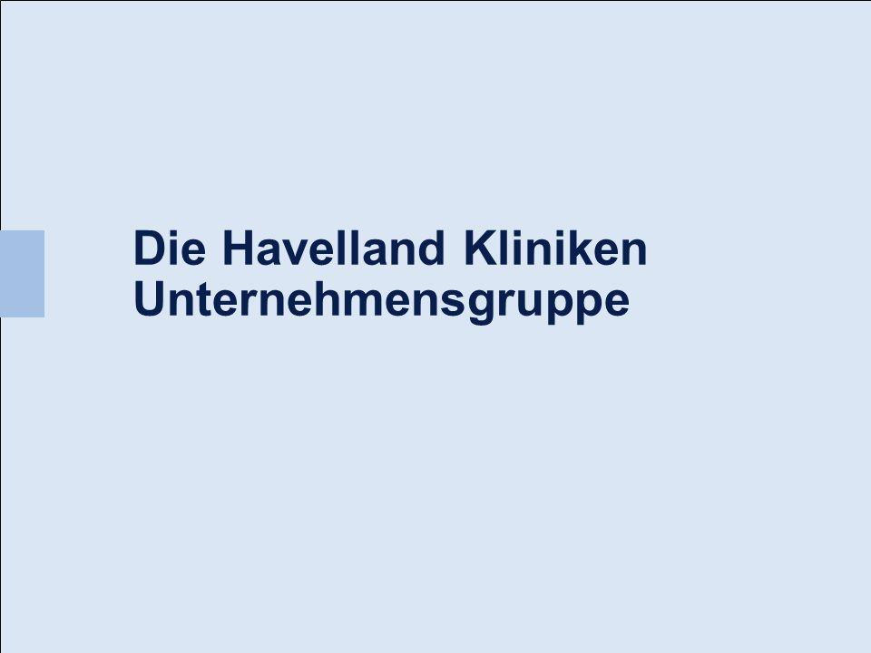 Die Havelland Kliniken Unternehmensgruppe