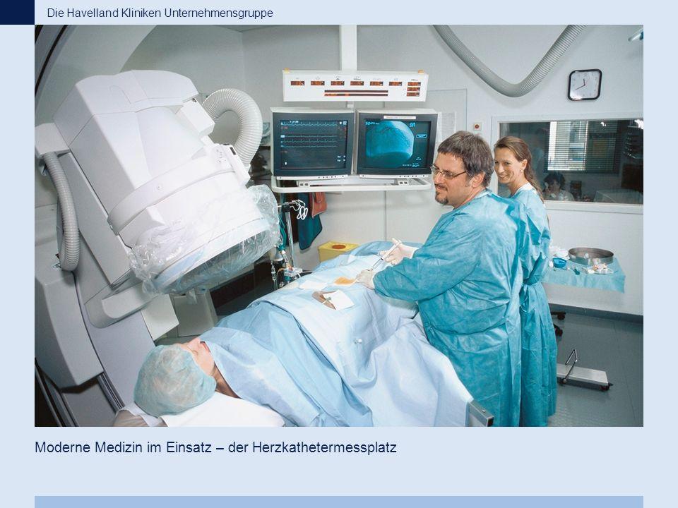 Moderne Medizin im Einsatz – der Herzkathetermessplatz Die Havelland Kliniken Unternehmensgruppe