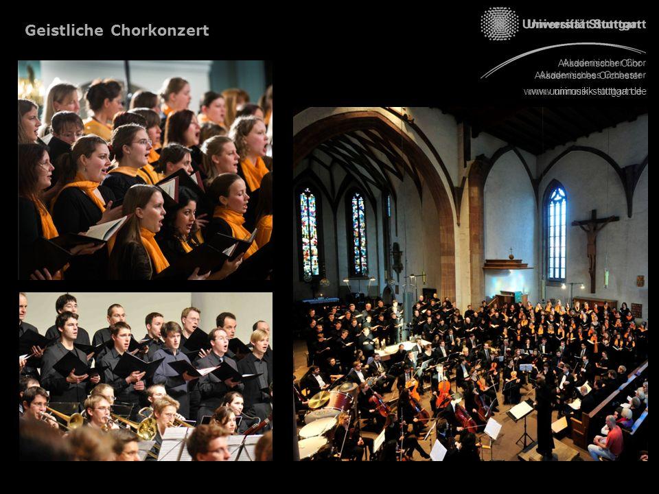 Geistliche Chorkonzert www.unimusik-stuttgart.de