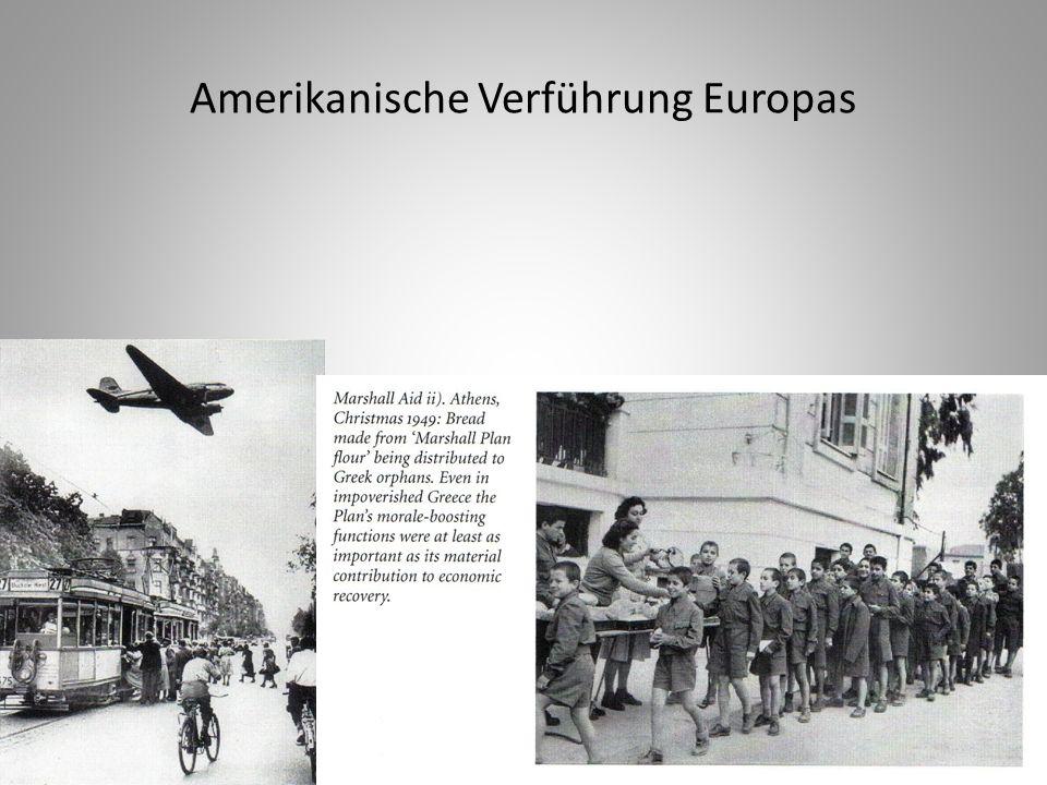 Amerikanische Verführung Europas
