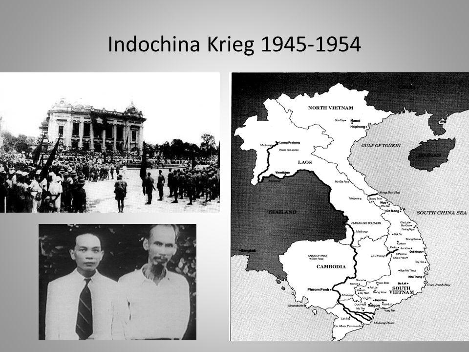 Indochina Krieg 1945-1954