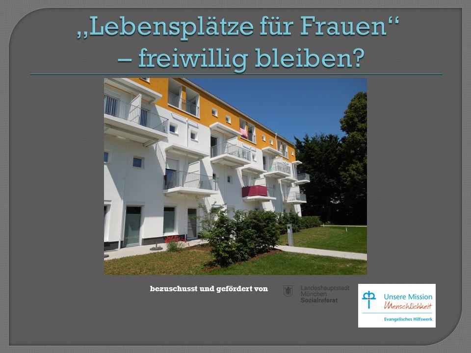 25 Einzelappartements 29-34 qm Überwiegend barrierefrei
