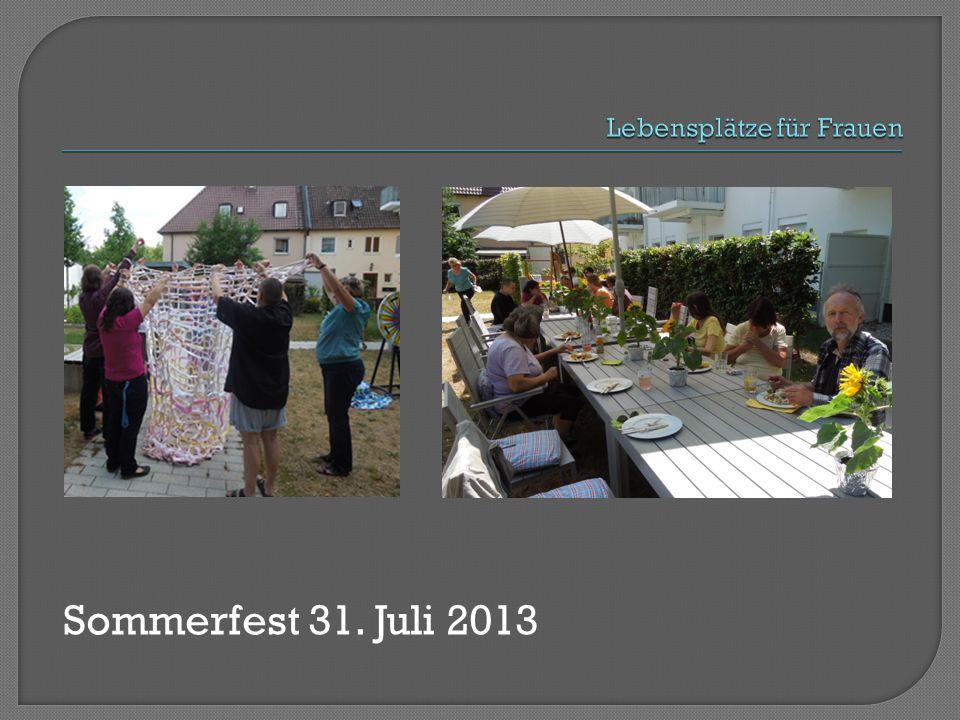 Sommerfest 31. Juli 2013