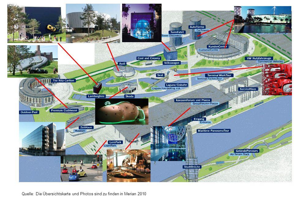 Quelle: Die Übersichtskarte und Photos sind zu finden in Merian 2010