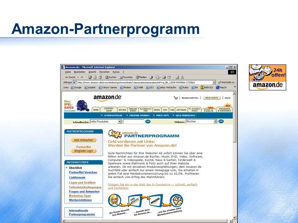 Amazon-Partnerprogramm