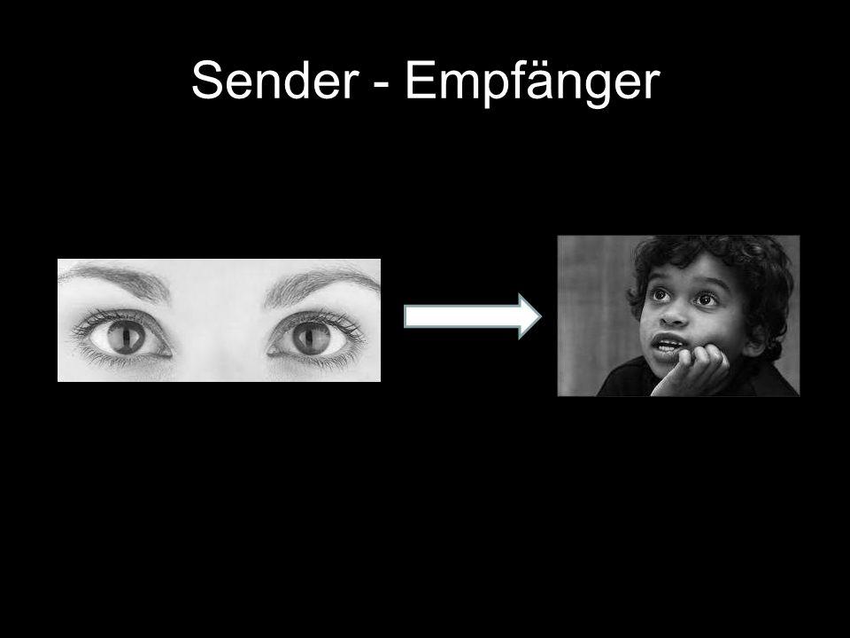 Sender - Empfänger