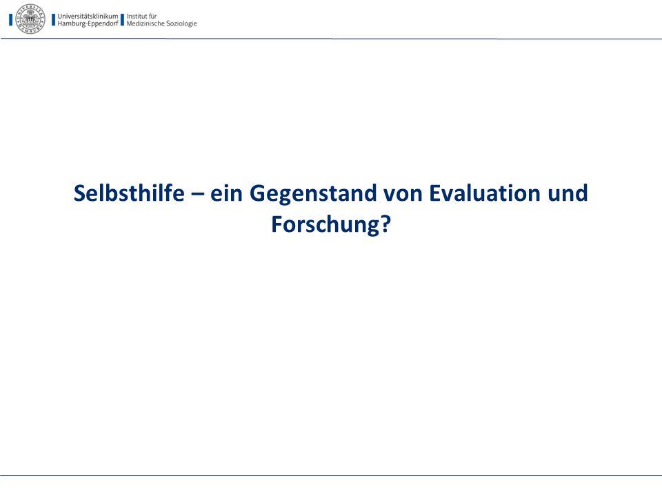 Beispiel für vergleichende Studien Selbsthilfekongress 2014, Berlin, Kofahl44