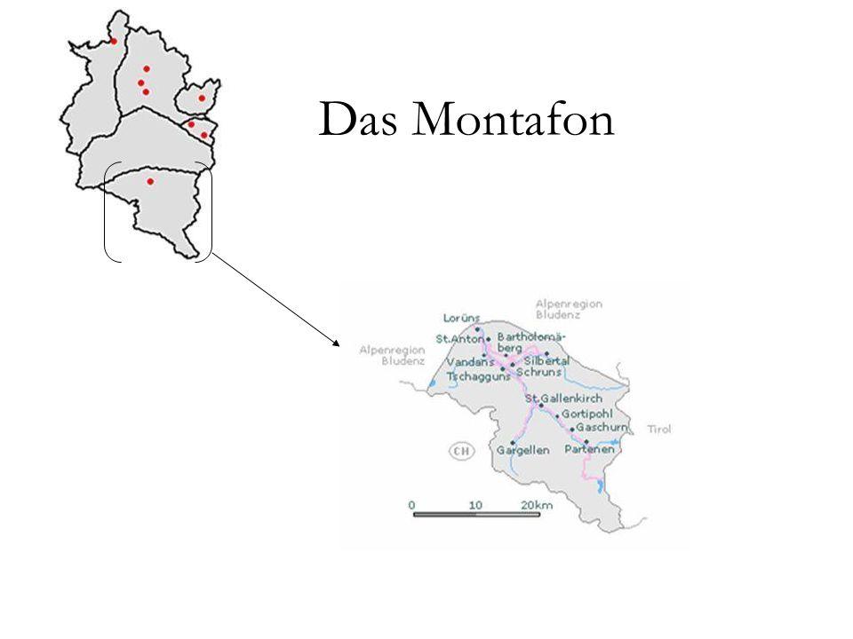 Montafon Das Montafon ist ein 39 km langes Tal, das bei Bludenz abzweigt und von der Ill durchflossen wird.