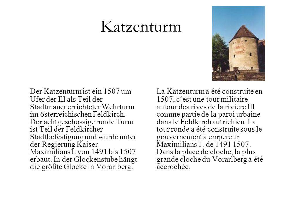 Rotes Haus Wahrzeichen von Dornbirn.1639 erbaut.