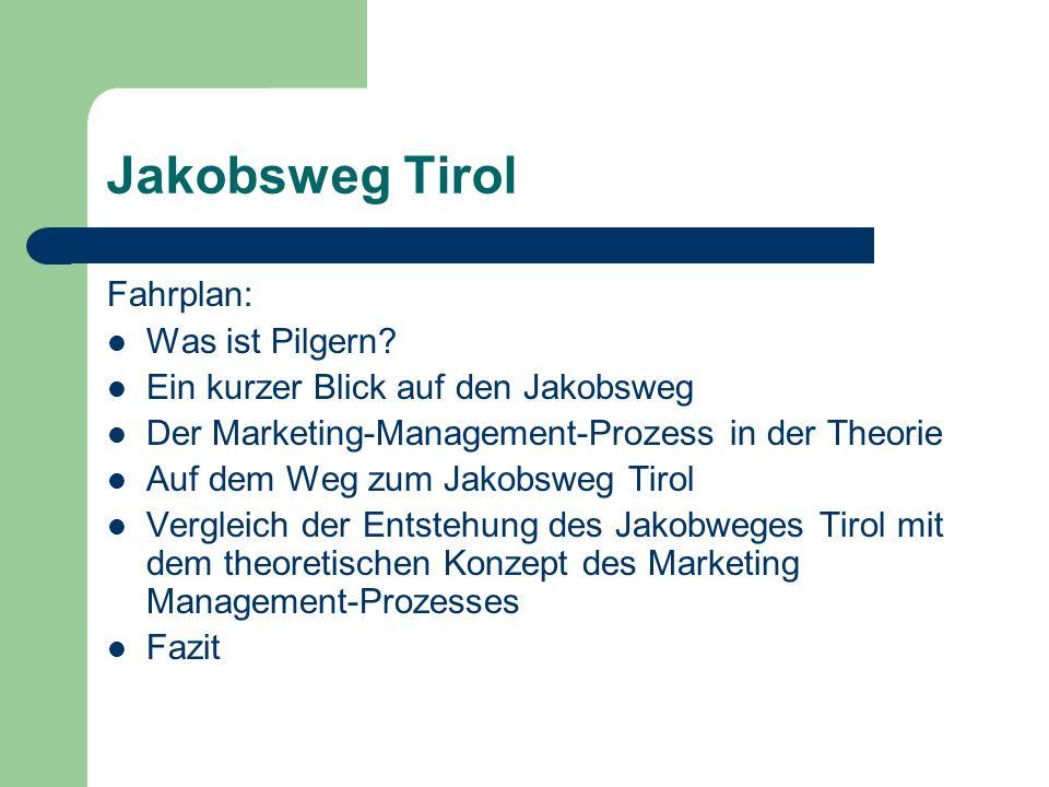 Jakobsweg Tirol Fahrplan: Was ist Pilgern.
