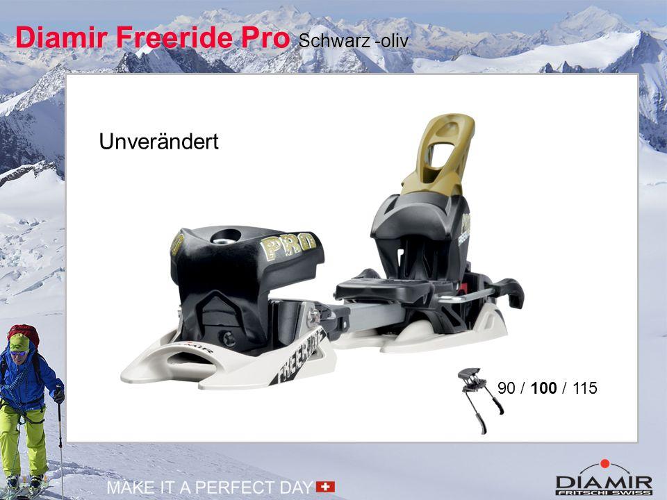 Diamir Freeride Pro Schwarz -oliv Unverändert 90 / 100 / 115