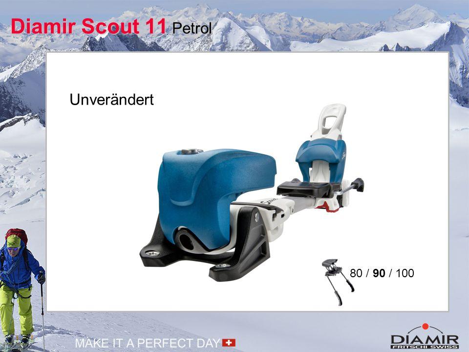 Diamir Scout 11 Schwarz Zusätzliches Modell in schwarz Aufdruck auf Vorderbacken 80 / 90 / 100