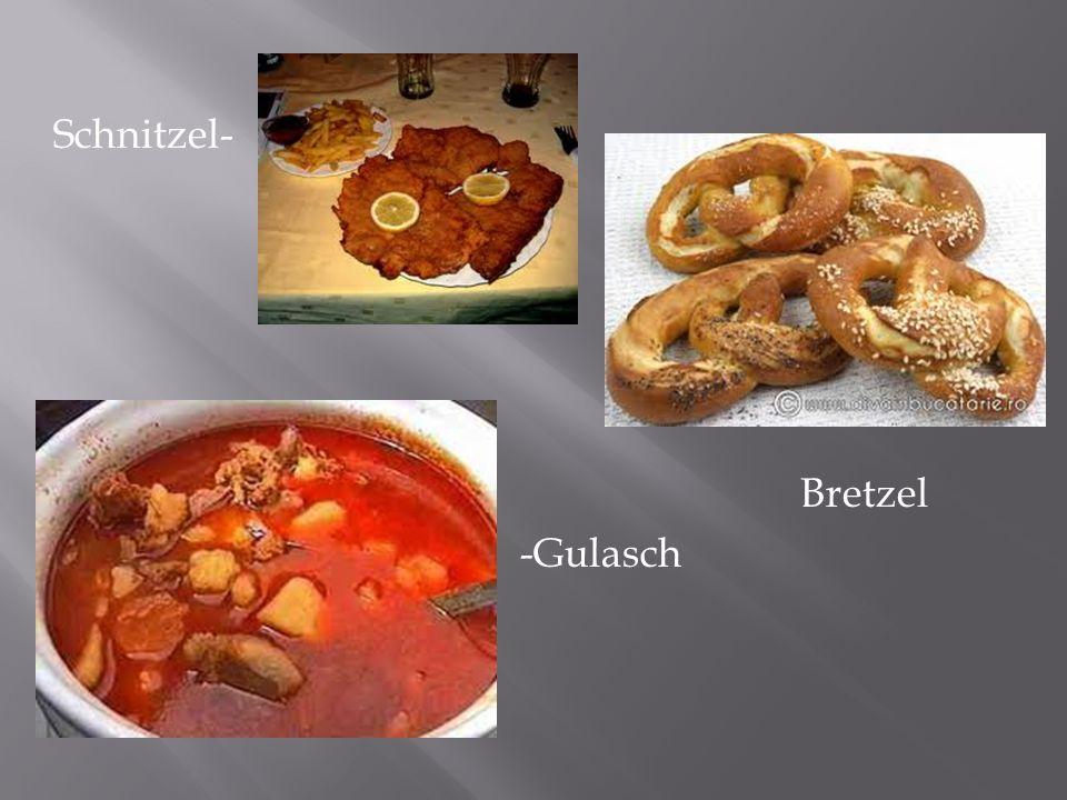Schnitzel- Bretzel -Gulasch