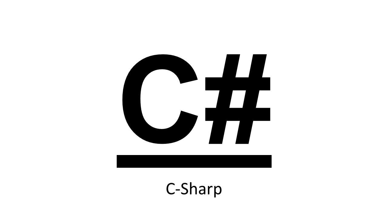 C# C-Sharp