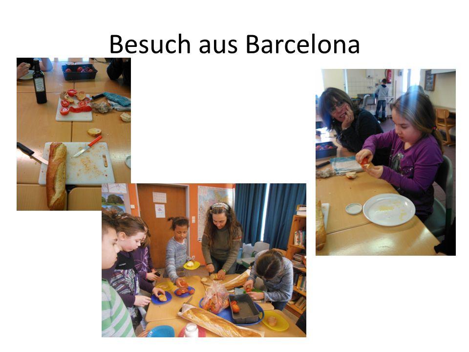 Besuch aus Barcelona