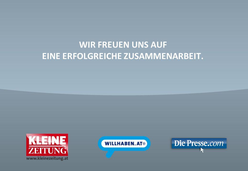 © Verkaufsentwicklung / Anzeigen und Marketing Kleine Zeitung WIR FREUEN UNS AUF EINE ERFOLGREICHE ZUSAMMENARBEIT.