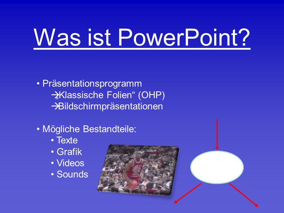 Was ist PowerPoint.
