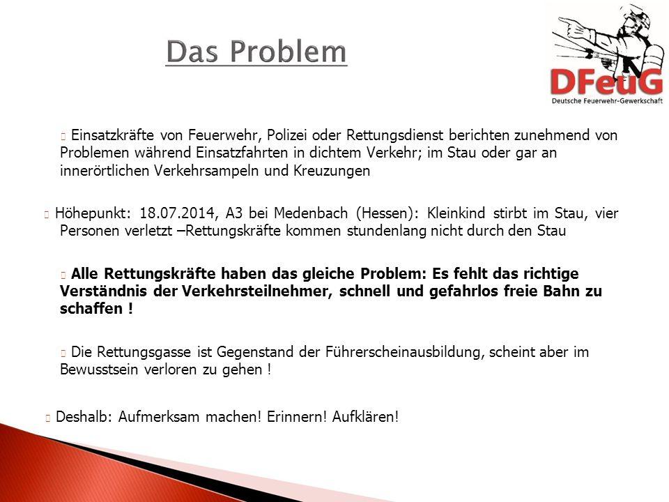 Der Alltag Deutsche Feuerwehr-Gewerkschaft lie